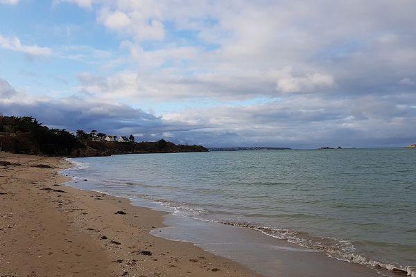 Couleur émeraude de la mer au Rougeret à Saint-Jacut-de-la-Mer