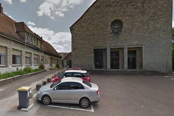 L'église Saint-Joseph à Besançon