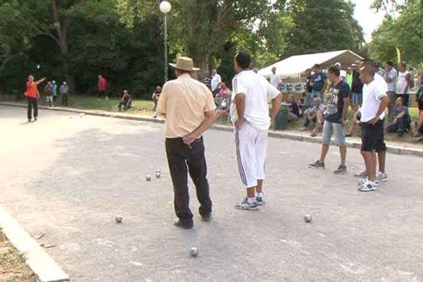 Les parties s'enchaînent au Parc Borély