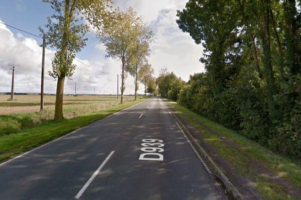 L'accident s'est produit le 29 juin sur la D939 à Berles-Monchel (Pas-de-Calais).