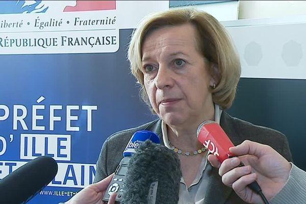 Michèle Kirry, Préfète de Bretagne