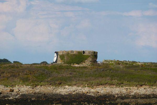 Un partie du fort Vauban sur l'île Cézon
