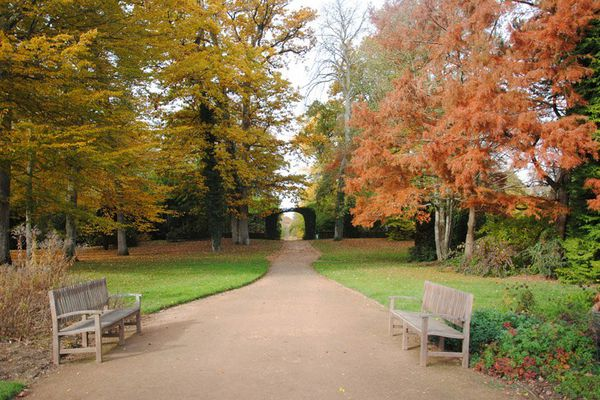 Le Parc Floral de la Source à l'automne