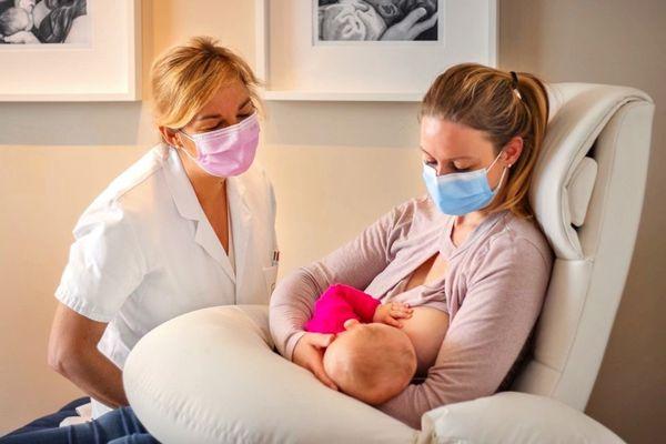 Sophie de Butler en consultation allaitement