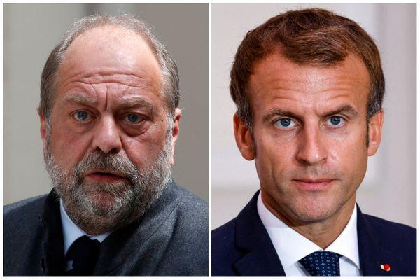 Photo d'illustration. Emmanuel Macron et Eric Dupond-Moretti sont attendus à Poitiers ce lundi 18 octobre.