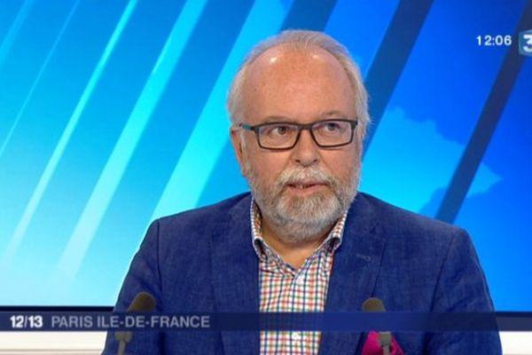"""Wallerand de Saint Just dans l'émission """"samedi politique"""" du 12 septembre 2015"""