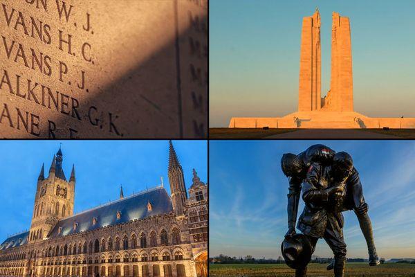 """Images extraites de la vidéo """"IN MEMORIAM - Une Histoire de Guerre 4K"""""""