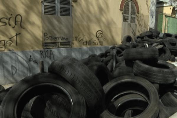 Décharge rue Masséna