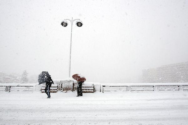 Une tempête de neige avait touché les Pyrénées-Orientales en mars 2010. Archive.