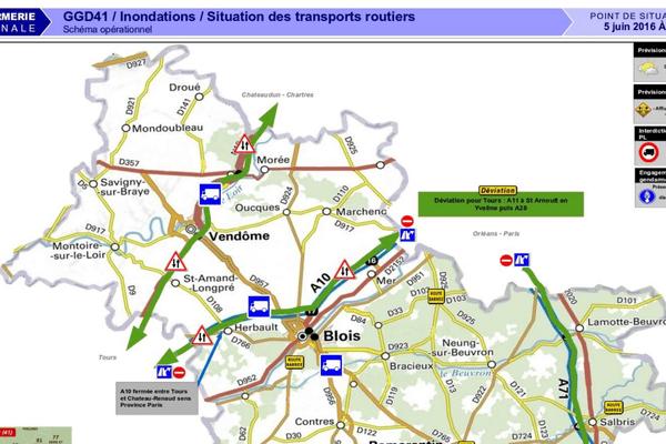 Point route gendarmerie
