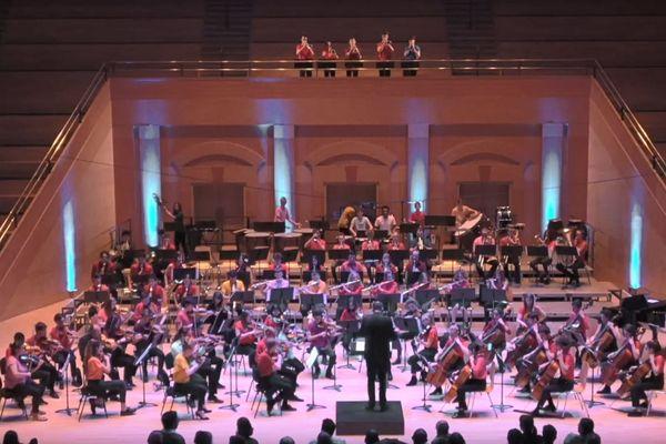Donné lors de 2 concerts en février 2020 à Bogota, Leilo de Berlioz sera proposé en 2021 en l'Arsenal de Metz par les Jeunes symphonistes Mosellans et leur camarades Colombiens.