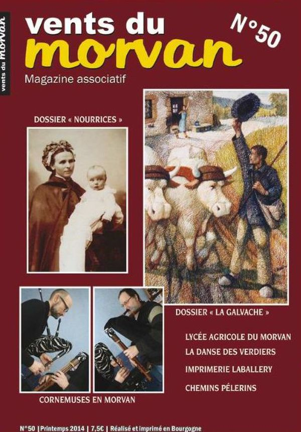 """Le magazine """"Vent du Morvan"""" édite son 50ème numéro, depuis 16 ans d'existence"""