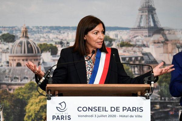 Anne Hidalgo a proposé 37 adjoints à la mairie de Paris ce vendredi 3 juillet.