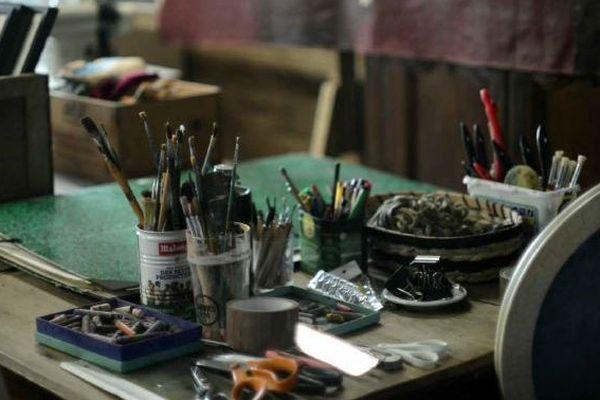Portes-ouvertes dans les ateliers d'artistes confinés
