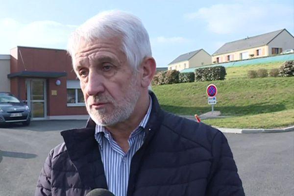 Jean-Claude Peyramard, maire de Saint-Hilaire-Peyroux (Corrèze)