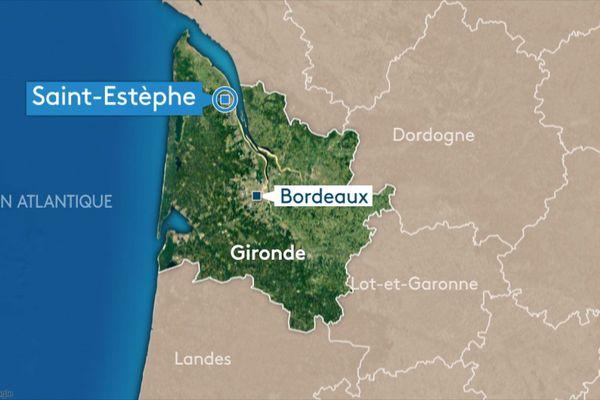 Accident d'ULM sur l'aérodrome de Saint-Estèphe, au nord de la Gironde.