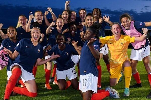 Les Bleuettes U19 Championne d'Europe