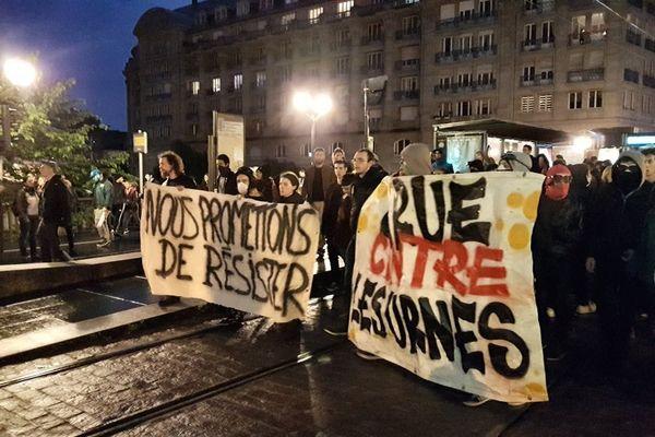 Manifestation anti-fasciste et anti-capitaliste dimanche à Strasbourg