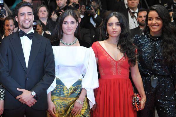 Shaïn Boumedine et Ophélie Bau (à gauche sur la photo), deux Montpelliérains sont les acteurs principaux du dernier film de Kechiche, en compétition officielle jeudi au Festival de Cannes.