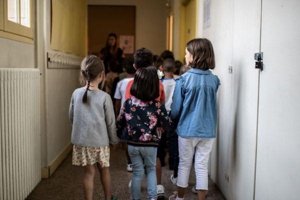 Le retour à l'école devrait s'effectuer à partir du 11 mai. Image d'illustration