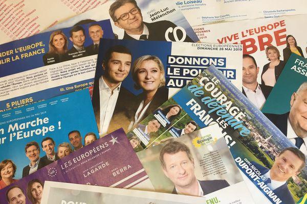 Dans certaines communes du Puy-de-Dôme, de l'Allier, du Cantal et de la Haute-Loire, la liste arrivée en tête aux élections européennes n'est pas la même qu'ailleurs.