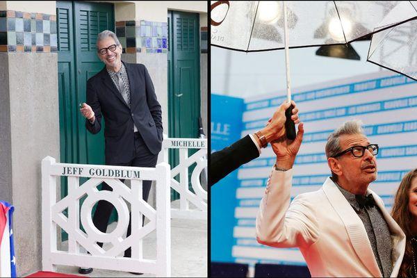 L'acteur américain Jeff Goldblum au festival de Deauville