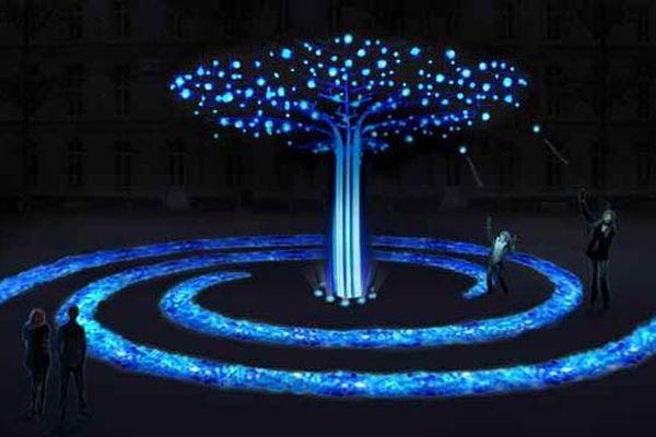 avenue Berthelot – 7e L'arbre à voeux Écarts en Cours et The Living ! Project