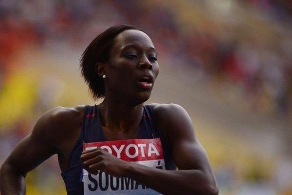 Myriam Soumaré aux championnats du monde d'athlétisme de Moscou - aoùut 2013