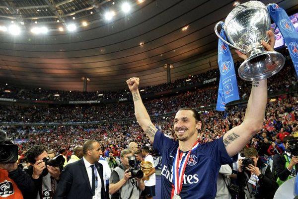 Le PSG a remporté la coupe de France 2015 face à l'AJ Auxerre