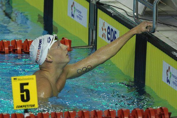 L'Antibois Damien Joly a failli sur 1500 m libre, trois semaines après avoir pourtant nagé sous le chrono exigé (14:57.19). Il s'est imposé en finale en 14:59.42.