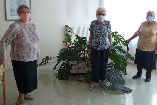 Suzanne, Georgette et Jeannine, les couturières du Vallon-Vert à Mouvaux