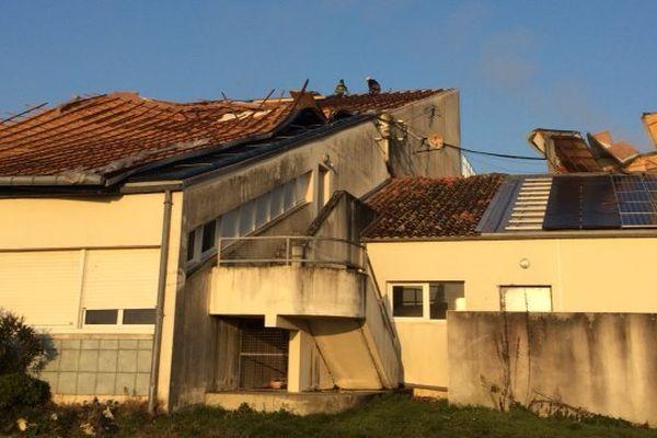 Les cours ont repris ce jeudi au Lycée de la Mer de Bourcefranc-Le Chapus (17).