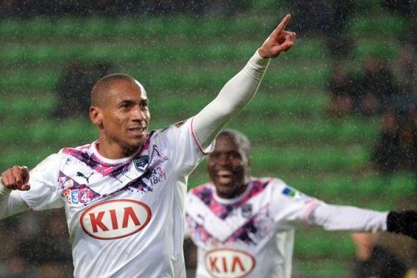 La joie de Jussie Ferreira Vieira après son but