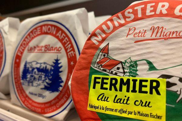 Avec plus de 5.000 tonnes produites par an, le munster est un des fromages à AOP le plus important de France.