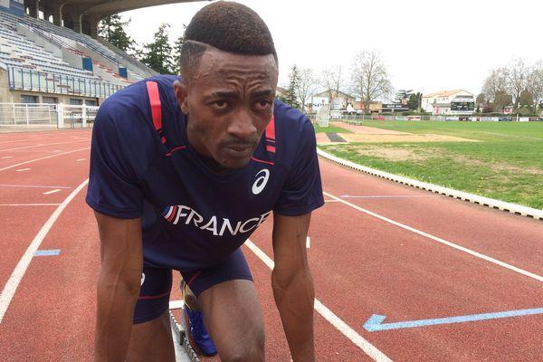 Hizir Anoussa à l'entraînement.