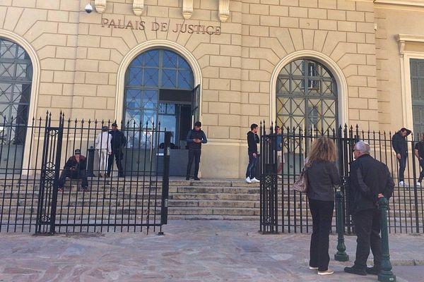 ILLUSTRATION - Le palais de justice d'Ajaccio (Corse du Sud)