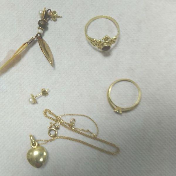 Les bijoux apparaissant sur ce cliché ont été découverts sur le corps de la femme retrouvée sur la plage de Canet-en-Roussillon.