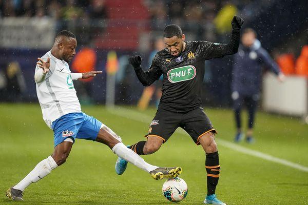 Les marseillais se sont imposés 0-3 à Caen au stade d'Ornano face à l'US Granville et se qualifient pour les 8èmes de finale de Coupe de France.