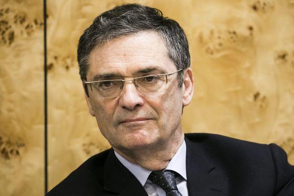 Patrick Devedjian en novembre 2019 à Paris.