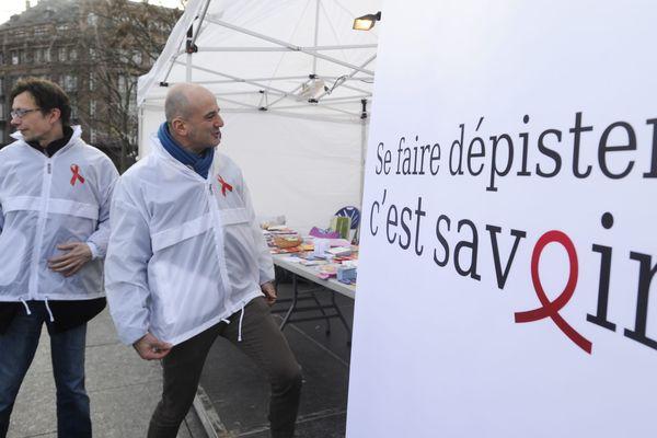 Illustration/Journée de lutte contre le sida