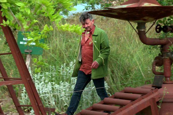 Yannick Jaulin nous guide dans le jardin du Nombril du Monde