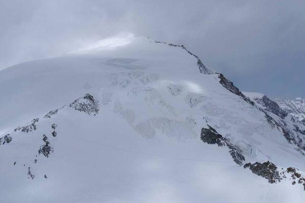 La pigne d'Arolla dans le Valais suisse