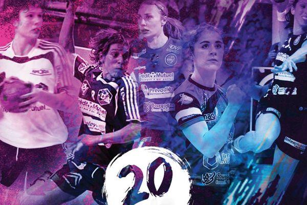 Le CDB fête ses 20 ans avec ses joueuses emblématiques samedi 3 décembre 2016 au palais des sports de Dijon.
