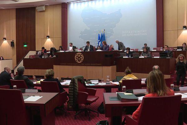 Vote du budget 2020 du Conseil départemental, ce lundi 3 février.