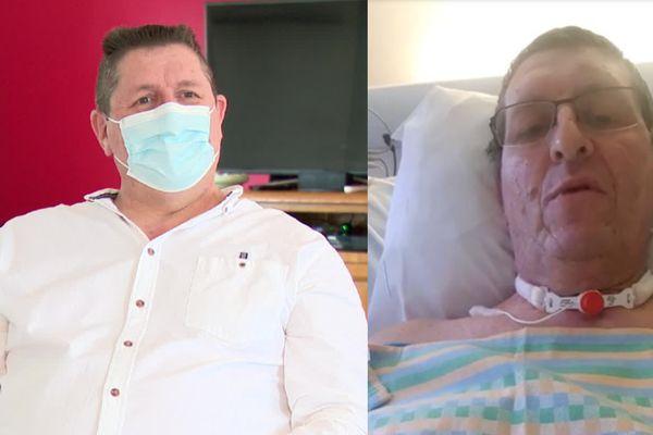 Malade de la Covid-19, Xavier a été plongé dans un coma artificiel pendant 3 semaines.