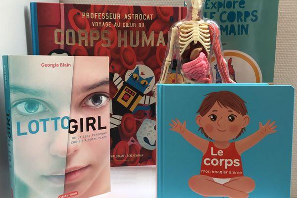 4 livres pour découvrir le corps humain