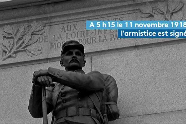 Il y a cent ans l'Armistice