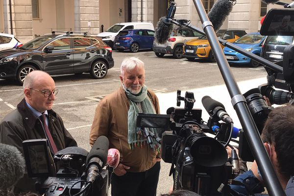 Didier Noyer, le père d'Arthur Noyer, après la dernière journée d'audition dans le procès de Nordahl Lelandais.