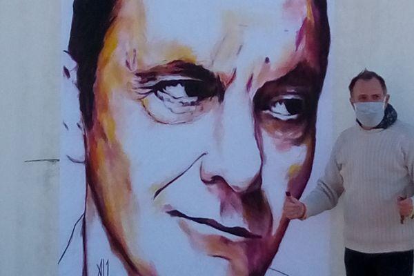 Le portrait de Jean-Pierre Bacri dessiné par l'angevin Al1
