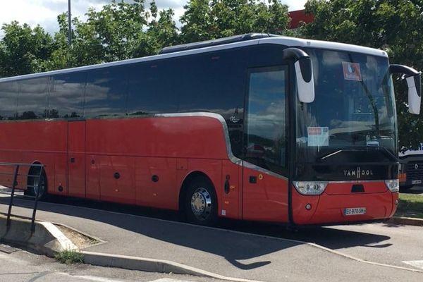 Le BlaBlaBus a roulé de Nancy à Grenoble, en passant par Dijon et Lyon.